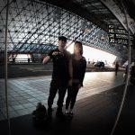 Taipei Airport Mirror Selfie /// VINJABOND