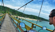 Bridge From Ceningan Island to Lembongan Island on a Motorbike // Vagabonding - Vinjatek