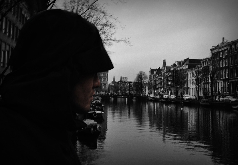 Canal Street in Amsterdam, Netherlands - VINJABOND