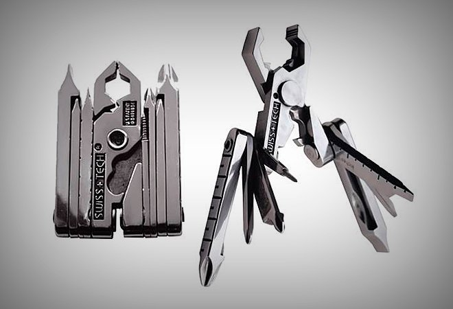 Swiss+Tech Micro-Max Multi-Tool - Vagabonding Travel Gear - VINJABOND