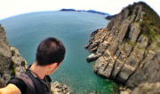 Island Cliff in Tongyeong, South Korea /// Vinjatek