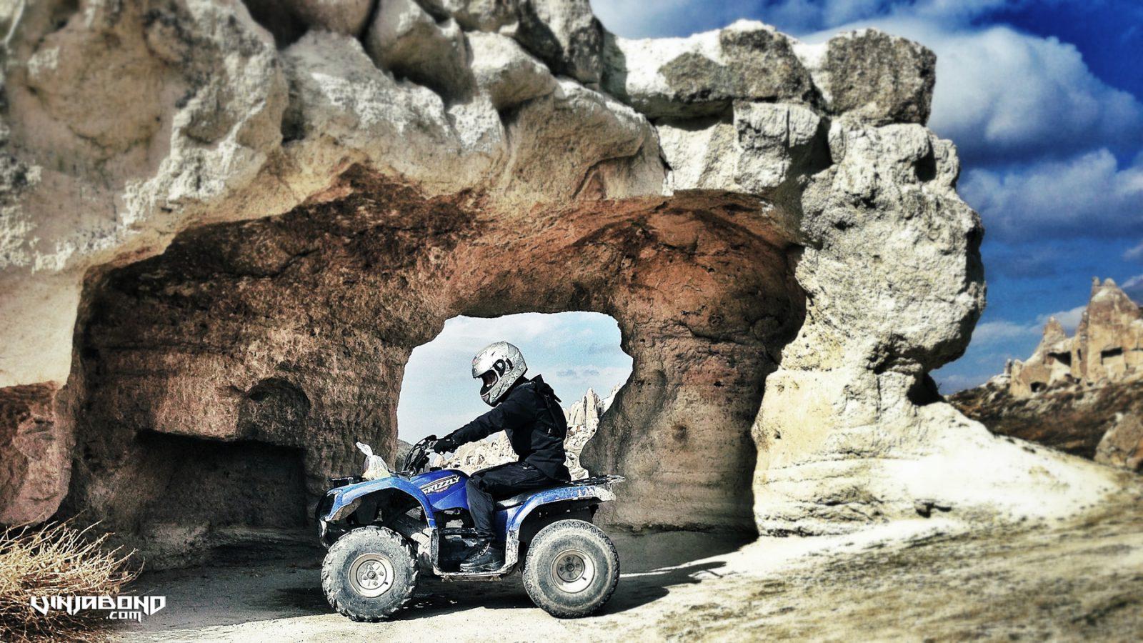 - ATV'ing Under an Arch in Cappadocia -