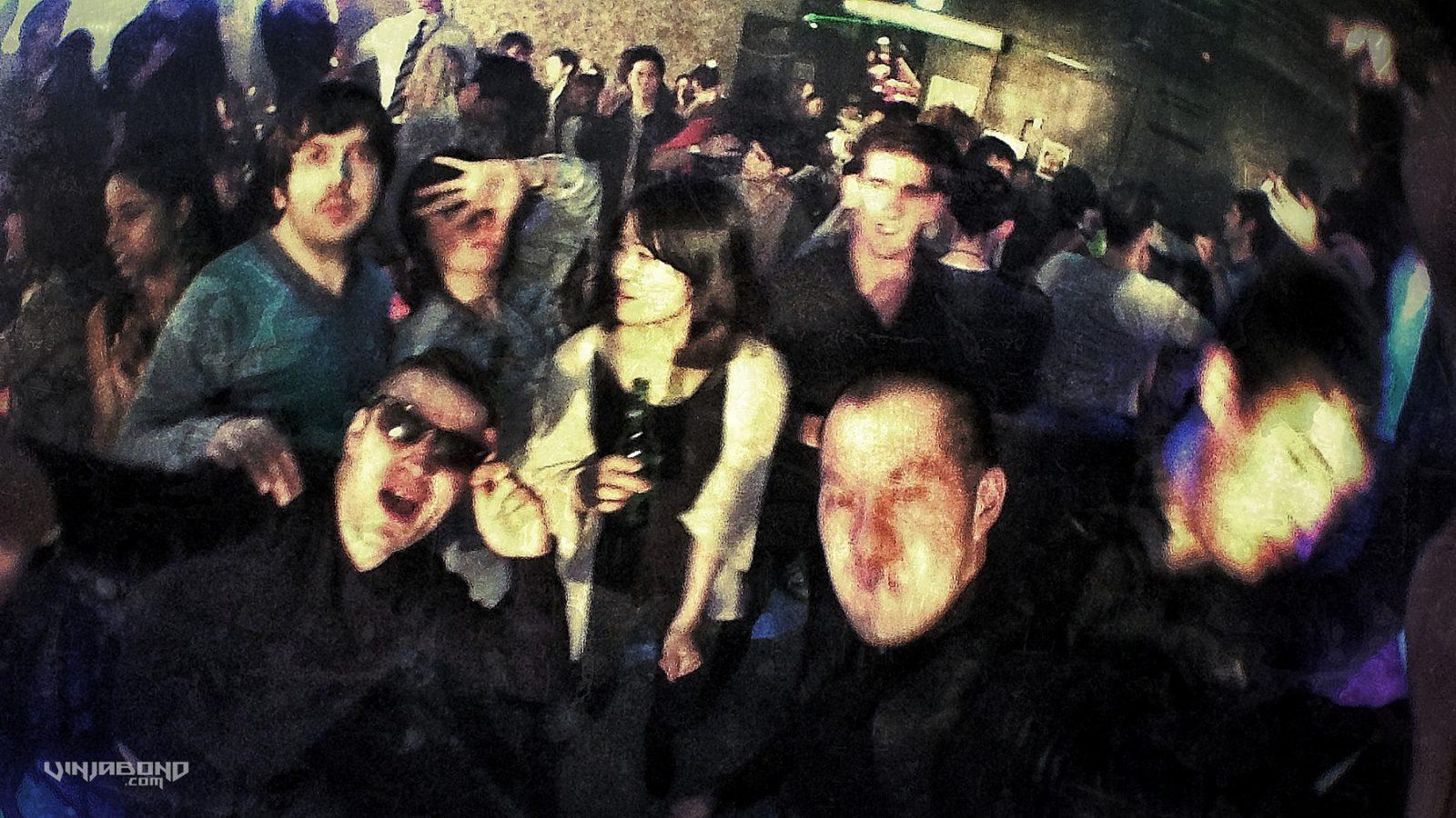 - Partying at Club Mama in Hongdae -