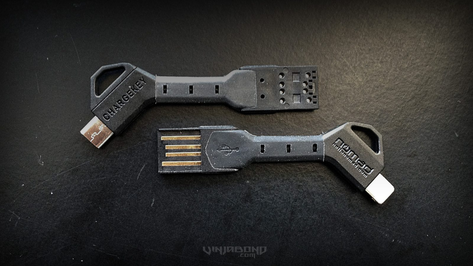 - Nomad CHARGEKEY: Lightning and Micro USB Cables - VINJABOND