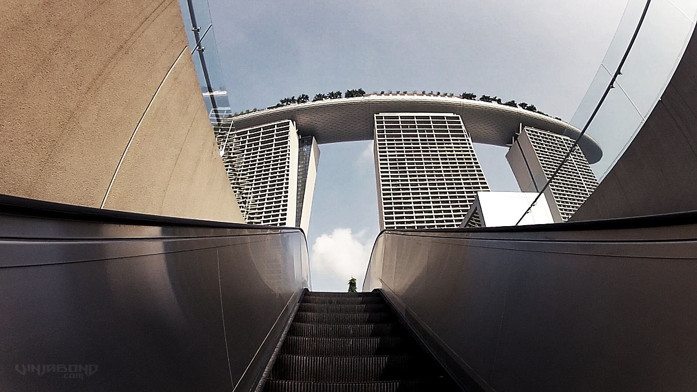 Marina bay sands infinity pool for Marina bay sands swimming pool entrance fee