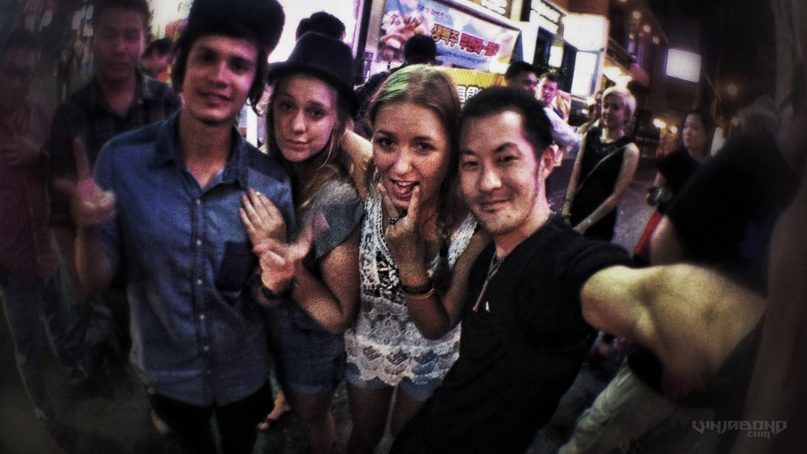 - Partying w/ Czech Models at Hongdae Club Central - VINJABOND