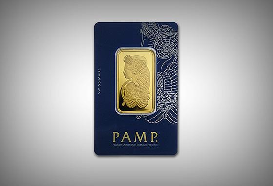 Pamp Suisse Gold Bars /// VINJABOND