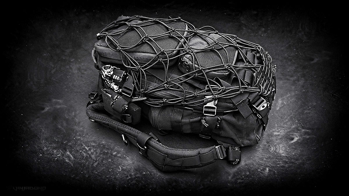 CUSTOM FASTPACK EDC TACTICAL SURVIVAL BACKPACK /// VINJABOND