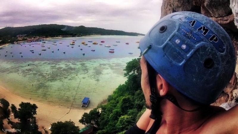 Rock Climbing in Koh Phi Phi, Thailand // Vinjatek
