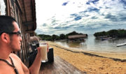 Beach Bungalow at Nusa Lembongan Island in Indonesia // Vinjatek