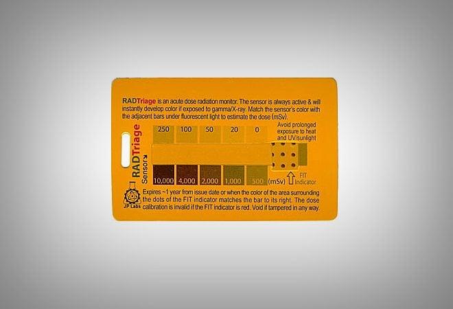 RADTriage Card // Vagabonding Gear