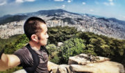 On The Peak of Busan Mountain in Korea // Vinjatek