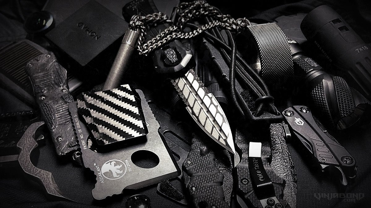 - VINJABOND'S EDC EQUIPMENT AND GEAR STASH /// ARPIL 2015 -