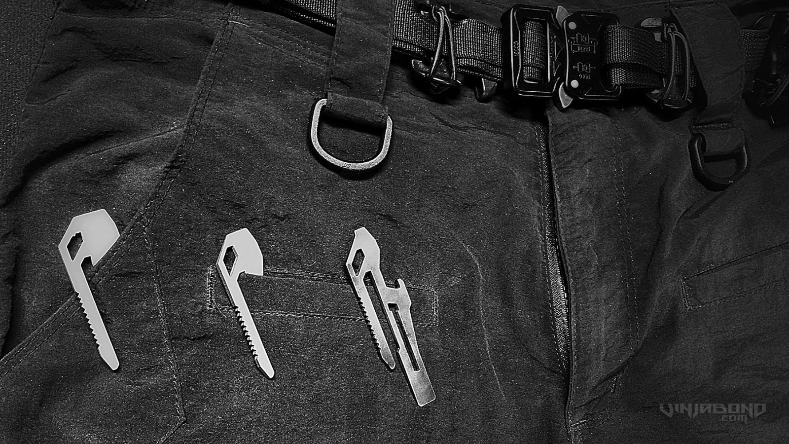 - Obstructures Tool as an EDC Gear Clip -