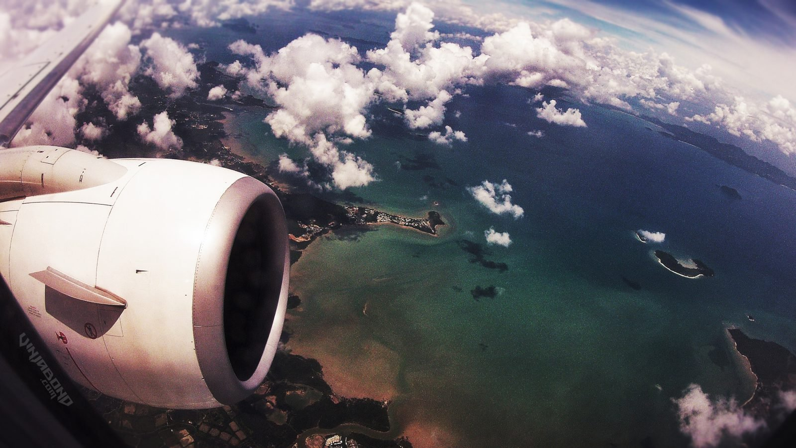 Flying Over The Paradise Islands of Thailand