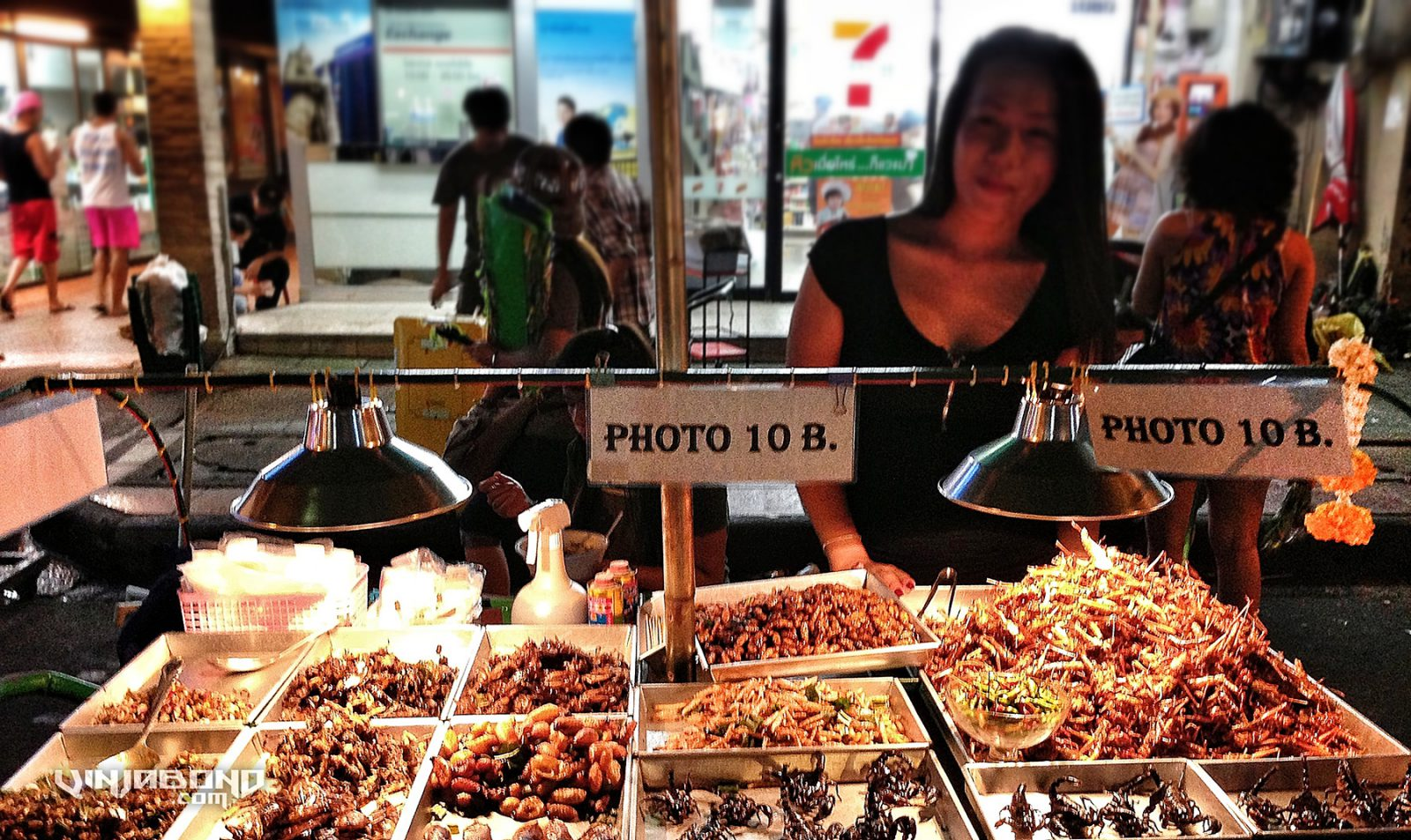 - Fried Scorpions, Grasshoppers and More in Bangkok -