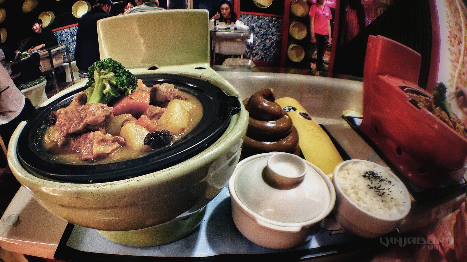 - The Toilet Restaurant in Shanghai - -