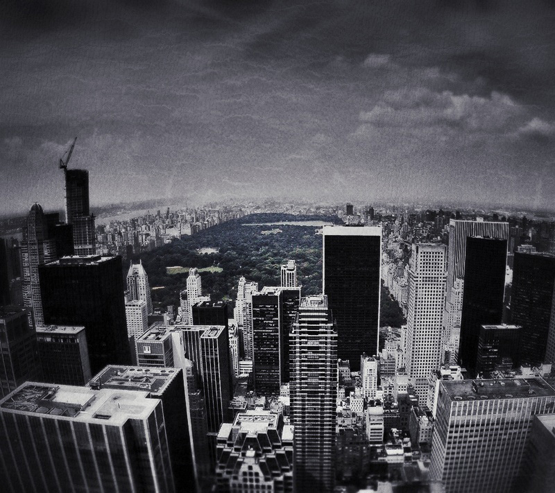 Central Park Viewed From The Top of The Rock /// Vinjabond