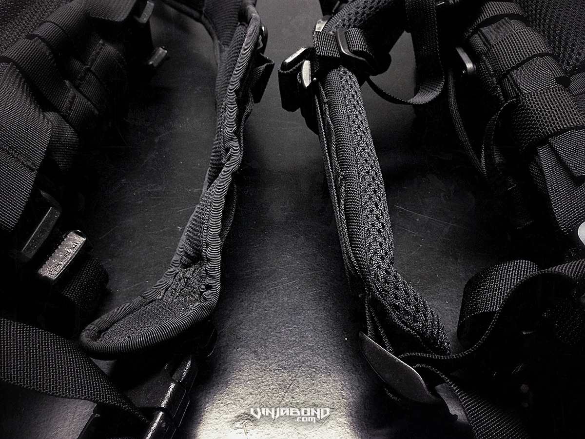 - Original and Reengineered Shoulder Straps Comparison -