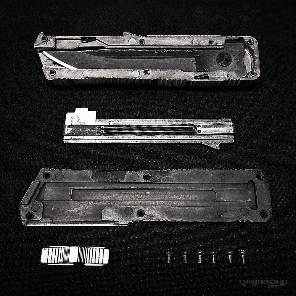 Lightning OTF Knife & Lightning OTF Knife /// azcodes.com