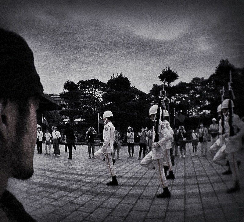 SHTF Changing of the Guard at National Revolutionary Martyrs' Shrine in Taipei /// VINJABOND