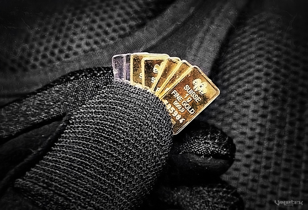 EDC Methods: Micro Gold Bars in Your Wallet /// Vinjatek