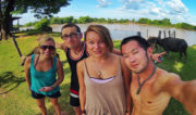 Don Det Island w/ Friends in Laos // Vinjatek