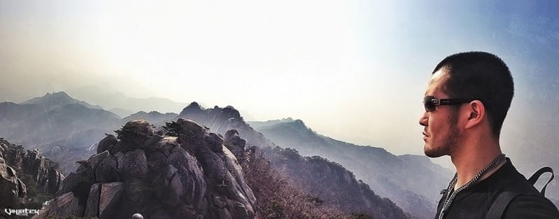 Bukhansan Mountain, Korea /// Vinjatek
