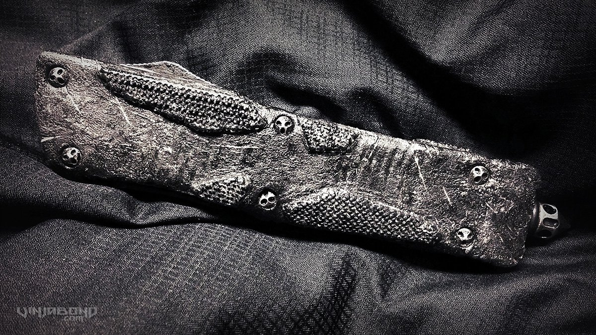 Tradecraft / Combat Modified Microtech Troodon Knife /// VINJABOND