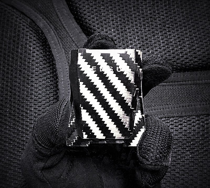 Tensul Carbon Fiber Money Clip /// VINJABOND