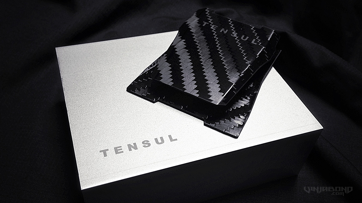 - Tensul Symmetric Carbon Fiber Money Clip -