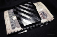 - Street Cash Carry Method Tensul Money Clip w/ Cash and Card Kit -