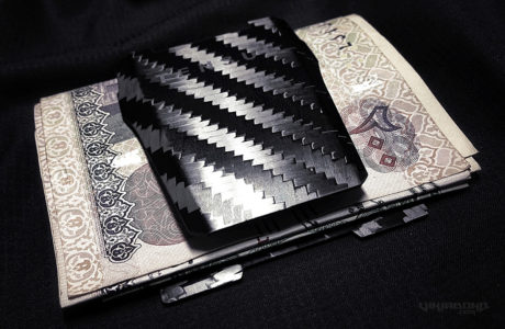 - Tensul Money Clip w/ Cash and Card Kit -