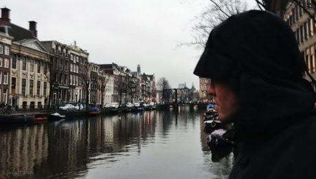 John V Cain in Amsterdam, Netherlands /// Vinjatek