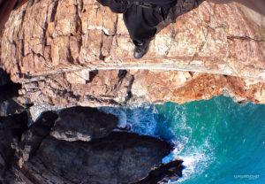 Vagabonding a Cliff in Busan, Korea /// VINJABOND