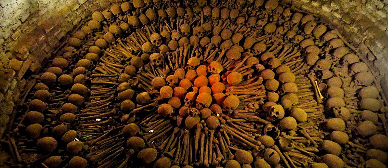 Catacombs of Paris /// Vinjatek