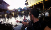 On a Boat at the Floating Village of Siem Reap // Vinjatek