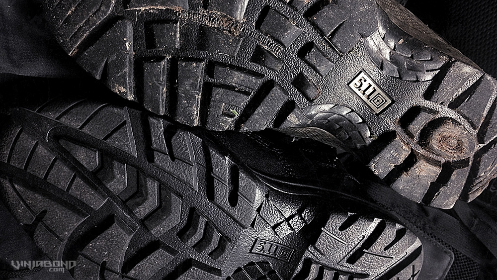 - 511 Tactical Boots Outsoles: ATAC (top) and TACLITE (bottom) -