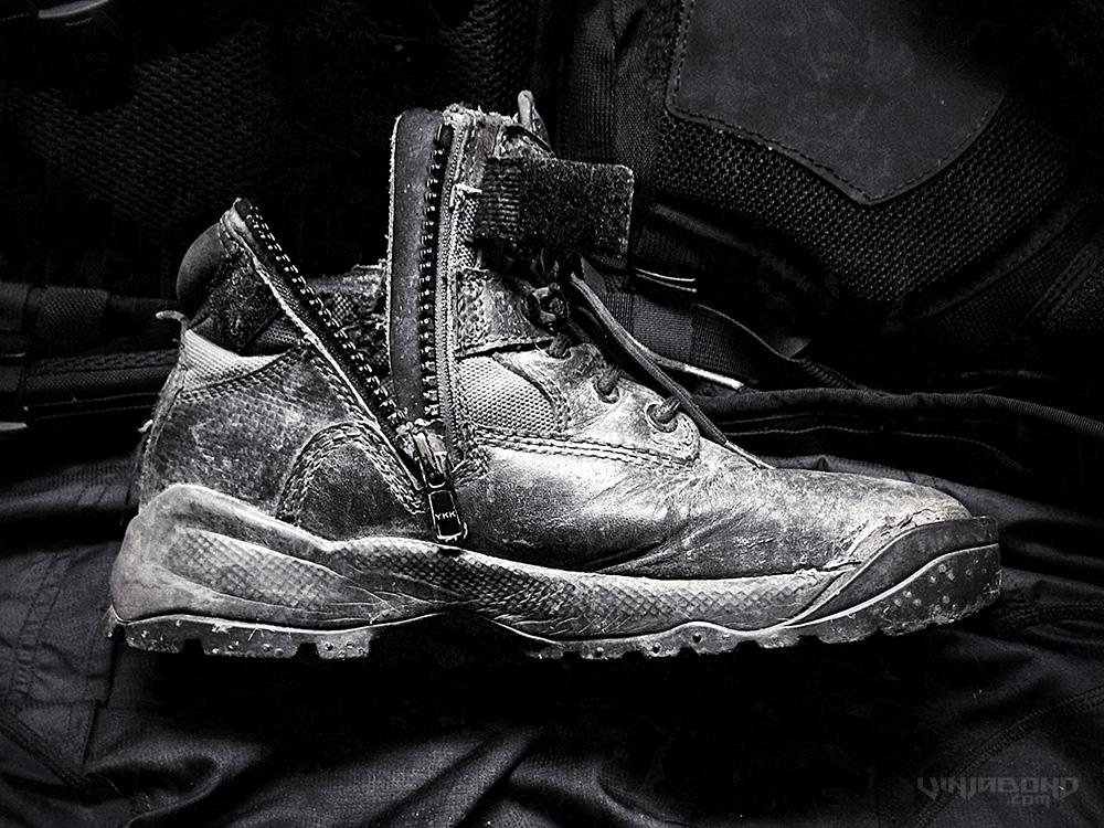 511 Tactical ATAC Side Zip Boots /// Vinjabond