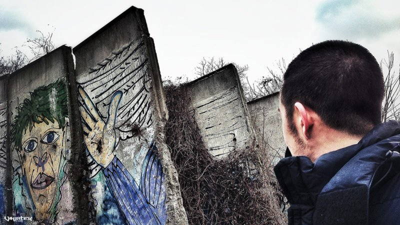 Remnants of the Berlin Wall in Germany /// Vinjatek