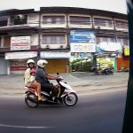 - People Watching While Riding in a Tuk-Tuk in Bali -