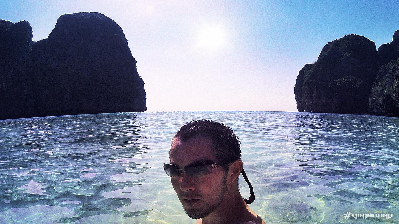 Maya Bay Beach of Koh Phi Phi in Thailand /// Vinjabond