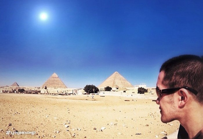 - The Great Pyramids of Giza, Egypt -