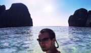 Maya Bay Beach of Koh Phi Phi in Thailand /// Vinjatek