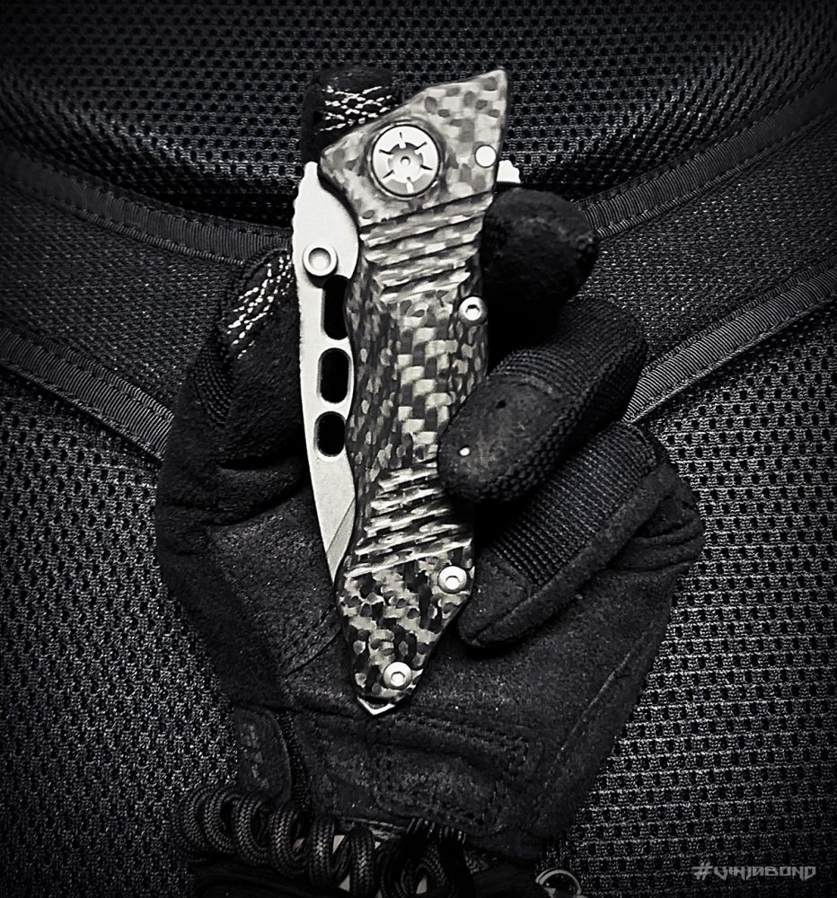- Guardian Tactical Helix Nano Knife -