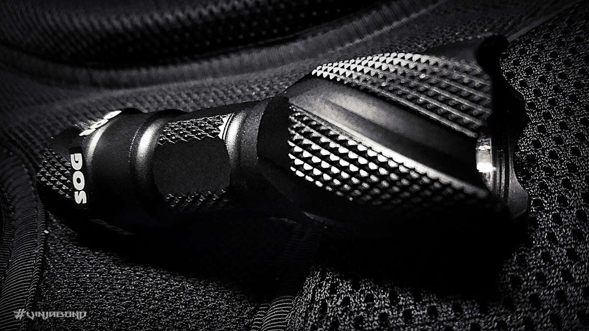 - Extra Textured Diamond Knurling -