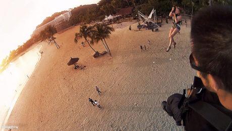 Zip Lining at Sentosa Island, Singapore /// Vinjatek