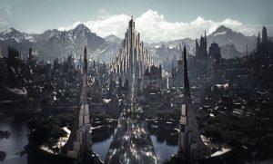 Fictional Places // Asgard