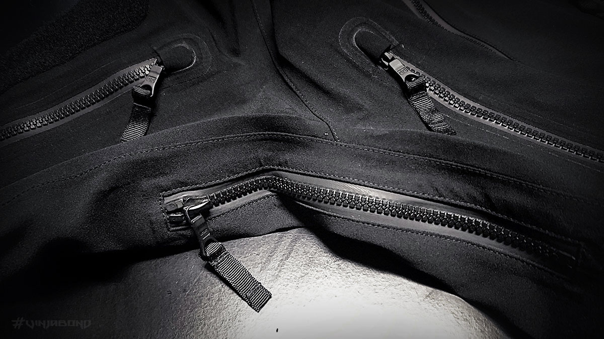 Stealth Hoodie LT Jacket // Arm Pit Zips
