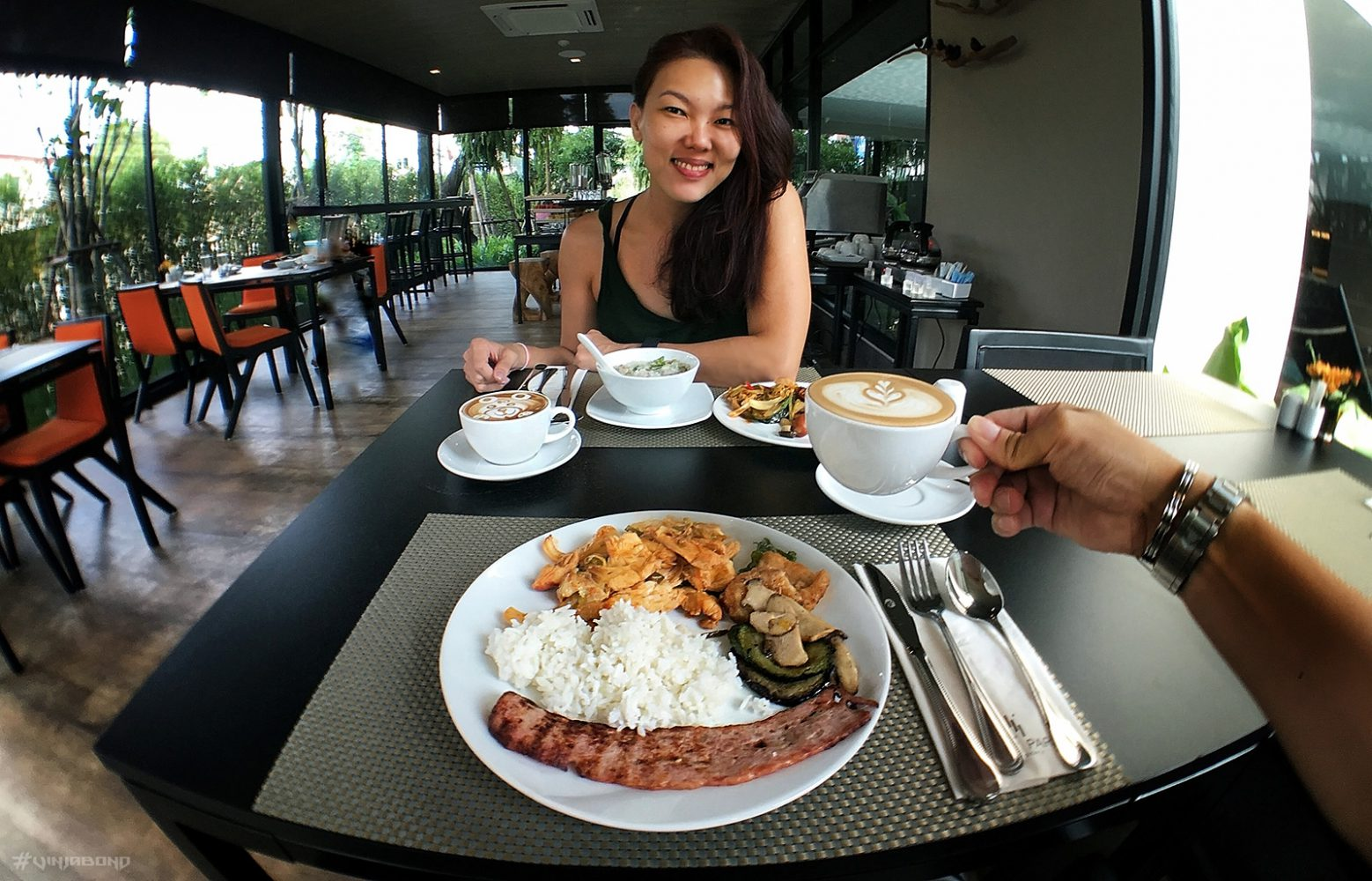 Gorgeous Breakfast at Hye Park Hotel in Chiang Mai, Thailand ///